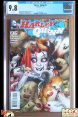 HARLEY QUINN #2 Cover A (2014 series) - Connor Cover - **CGC 9.8**